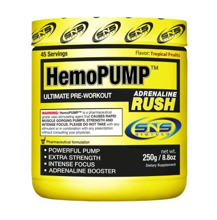 SNS Biotech - HemoPump Adrenaline Rush