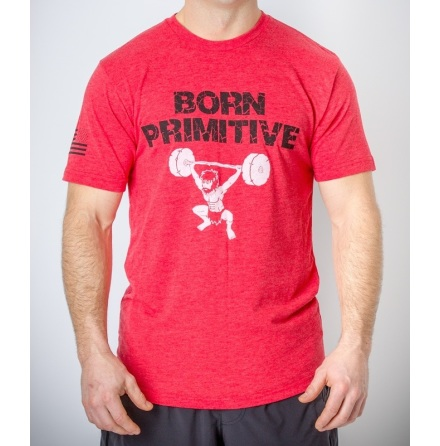 Born Primitive T-shirt ''The Hungriest Man Eats''