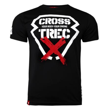Trec T-shirt Black Cross