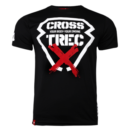 Trec T-shirt Black Cross