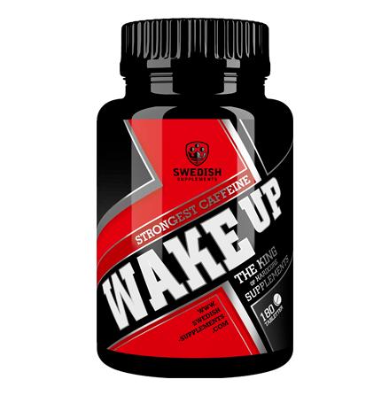 Swedish Supplements Wake Up (Koffein 250mg) 180 caps