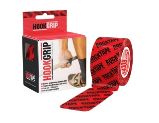 RockTape HookGrip Pre Cut 15cm - Red Logo