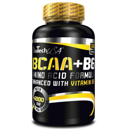 BioTech USA BCAA + B6 - 340 Tabs
