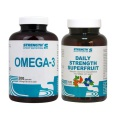 Daily Strength Superfruit 120cps + Omega3 200cps