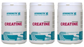 Strength Creatine 500g - 3 för 2