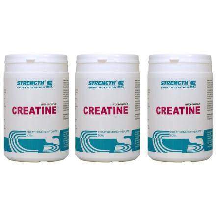 Strength Creatine 500g - 3 f�r 2