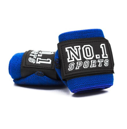 No.1 Sports Wris Wraps Royal Blue