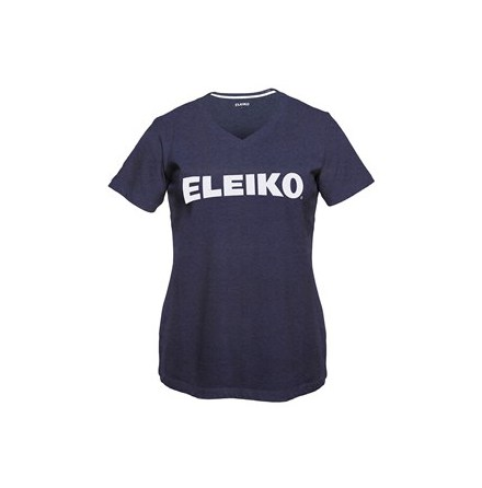 Eleiko Cotton V-Neck Navy