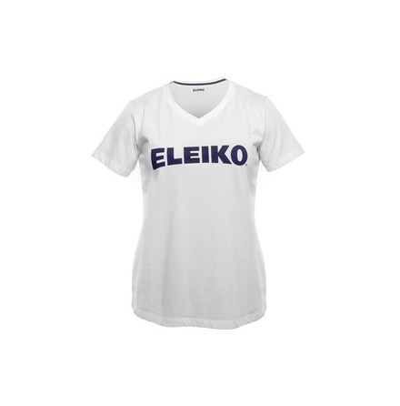 Eleiko Cotton V-Neck White