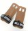 No.1 Sports Pull Up Grips Brown Leather