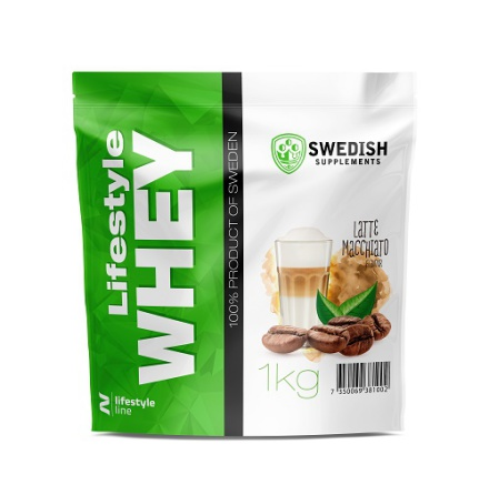 Swedish Supplements Lifestyle Whey Protein