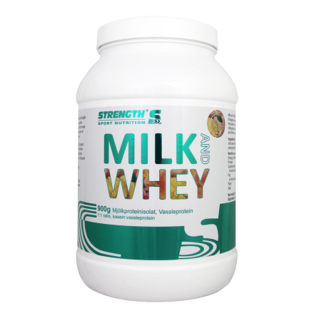 Strength Milk And Whey Protein