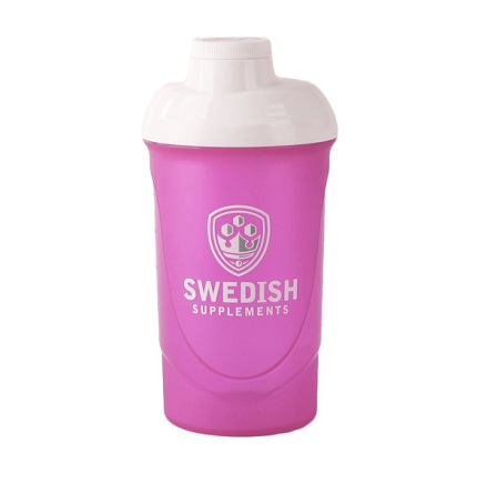 Swedish Supplements Shaker Rosa