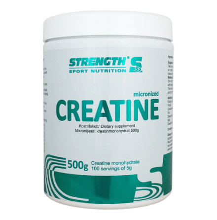 Strength Kreatin Monohydrat, 500g