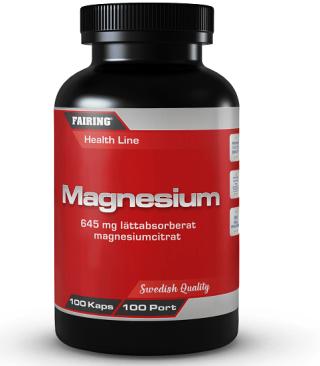 Fairing Magnesium 100 Kapslar