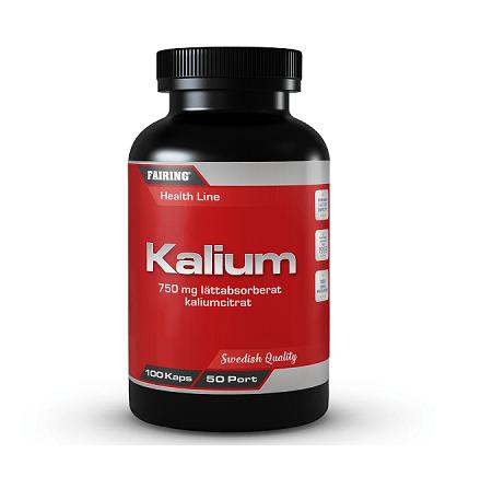 Fairing Kalium 100 Kapslar