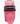 Wahlanders Bälte Mjuk rosa med svart söm