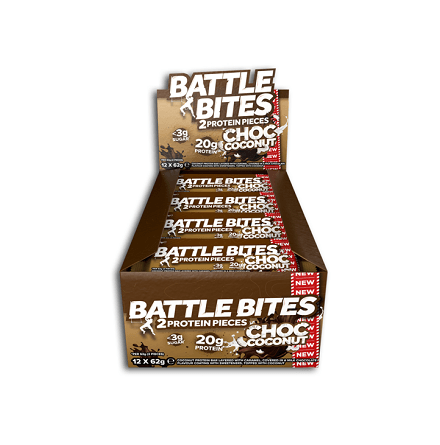 Battle Bites Protein Bars