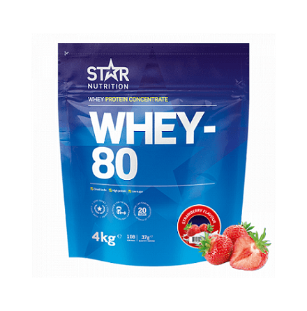 Star Nutrition Whey 80 4kg