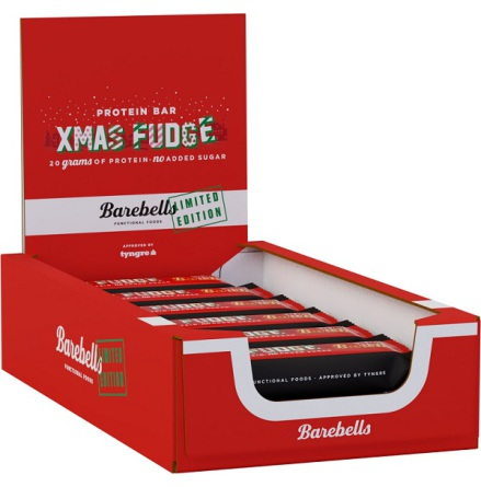 Barebells Protein Bars Xmas Fudge