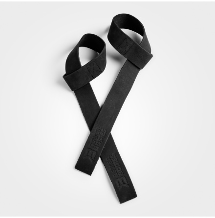 Lifting Straps Leather Black