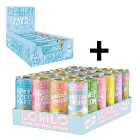 Lohilo BCAA Dryck + 12 X Lohilo Bars