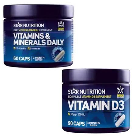D-vitamin och Multivitamin