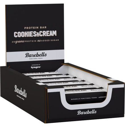 Barebells Protein Bars Cookies & Cream