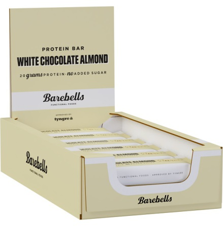Barebells Protein Bars White Chocolate Almond