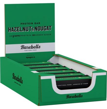 Barebells Protein Bars Hazelnut & Nougat