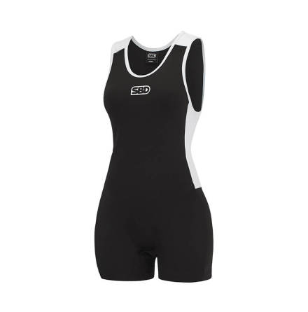 SBD Singlet Women Black & White