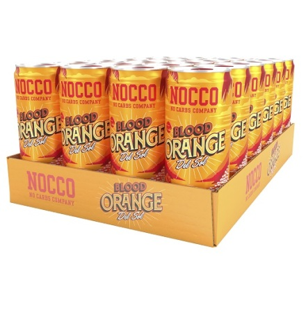 Nocco Bcaa Blood Orange 24 x 330ml
