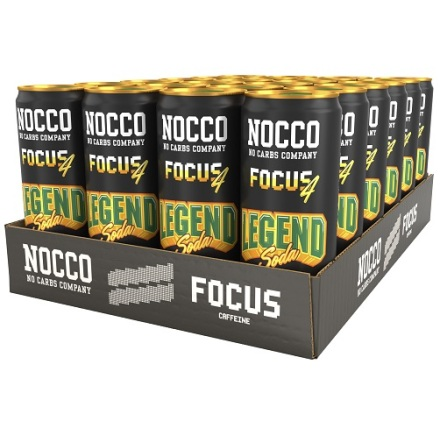 Nocco Focus Legend Soda 24 x 330ml