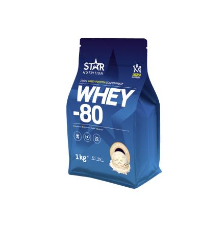 Star Nutrition Whey 80 1kg