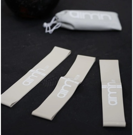 Aimn Grey Resistance Bands