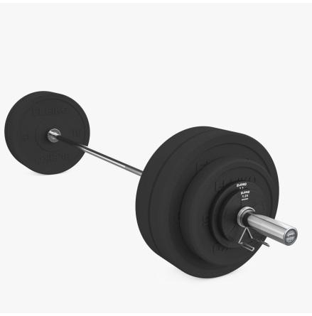 Eleiko XF Set - 88 kg, Men
