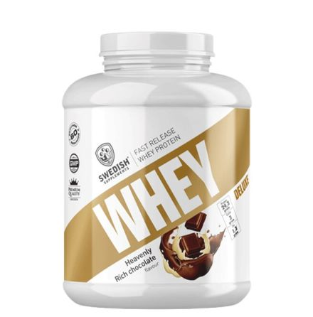 Swedish Supplements Whey Protein Deluxe, 2kg