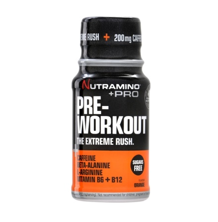 Nutramino +Pro Pre-Workout Shot 12st