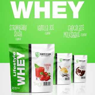 Swedish Supplements Lifestyle Whey